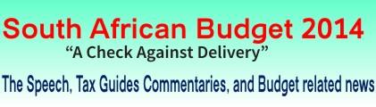 SA National Budget 2013-2014-2015-2016